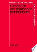Handbuch der deutschen Konnektoren 1