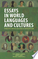 Essays in World Languages and Cultures 22nd Southeast Conference On Foreign Languages Literatures And