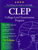 Preparation for the CLEP  College Level Examination Program