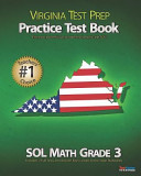 Virginia Test Prep Practice Test Book Sol Math Grade 3