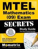 Mtel Mathematics  09  Exam Secrets Study Guide