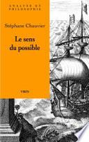 illustration du livre Le sens du possible