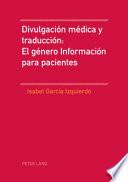Divulgación médica y traducción