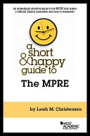 A Short and Happy Guide to the MPRE