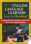 Why Do English Language Learners Struggle With Reading