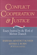 Conflict  cooperation  and justice