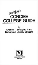 Lovejoy s concise college guide