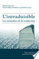 L Intraduisible Les M Andres De La Traduction