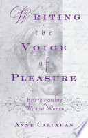 Writing the Voice of Pleasure