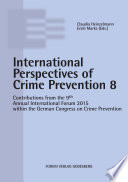 Internationale Perspectives of Crime Prevention 8