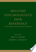 Military Psychologists  Desk Reference