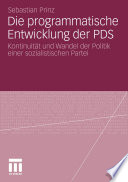 Die programmatische Entwicklung der PDS