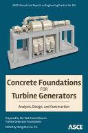 Concrete Foundations for Turbine Generators