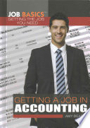 Getting a Job in Accounting