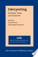 Interpreting : interpretation. the range of perspectives presented in...