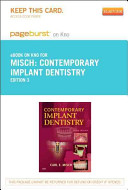 Contemporary Implant Dentistry   Pageburst E Book on Kno  Retail Access Card
