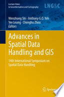 Advances in Spatial Data Handling and GIS