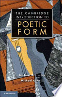 Poetic Form  An Introduction