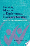 Disability  Education and Employment in Developing Countries
