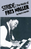 Stride: The Music of Fats Waller