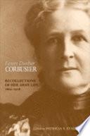 Fanny Dunbar Corbusier