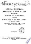Febrero nov  simo o Libreria de jueces  abogados y escribanos