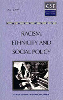 Racism  Ethnicity  and Social Policy