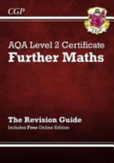 AQA Level 2 Certificate in Further Maths   Revision Guide