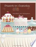 Desserts En Cupcakes Kleurboek Voor Volwassenen 1