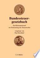 Bundessteuergesetzbuch