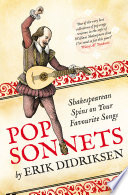 Pop Sonnets  Shakespearean Spins on Your Favourite Songs