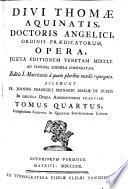 In IV Libros Sententiarum