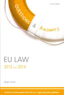 Q & A Revision Guide EU Law 2013 and 2014
