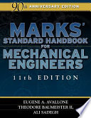 Marks  Standard Handbook for Mechanical Engineers