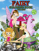 Fairy Coloring Book For Kids Ages 4 8
