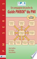 illustration Un compagnon de poche du Guide PMBOK® du PMI –Basé sur le Guide PMBOK® 5ème Edition