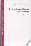 Religionslehrerbildung an der Universität