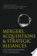 Mergers  Acquisitions and Strategic Alliances