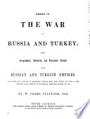 History of the war in Russia and Turkey