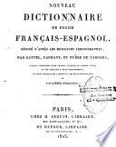 Nouveau dictionnaire de Poche Français-Espagnol et Espagnol-Français