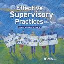 Effective Supervisory Practices