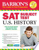 Barron s SAT Subject Test  U S  History  3rd edition