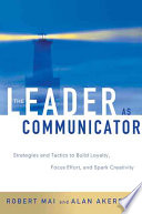 The Leader As Communicator