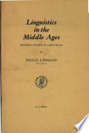Linguistics in the Middle Ages