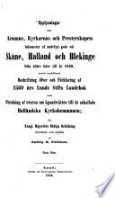Upplysningar om Kronans, Kyrkorans och Presterskapets