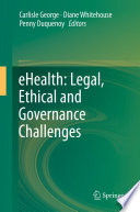 eHealth  Legal  Ethical and Governance Challenges