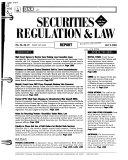 Securities Regulation & Law Report