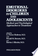Emotional Disorders in Children and Adolescents
