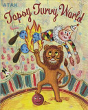 Topsy Turvy World : firemen put out water with flames, dinosaurs gaze...