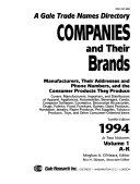 Companies And Their Brands : they produce....